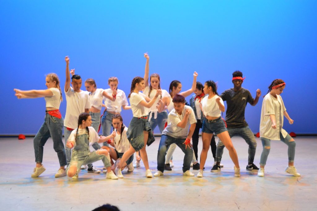 Shining performed by Years 11 and 12s. Choreographed by Kristy Deller