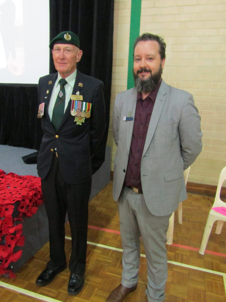 Mr Michael Gavin, RSL Osborne Park Sub Branch and Mr Luke Dragicevich