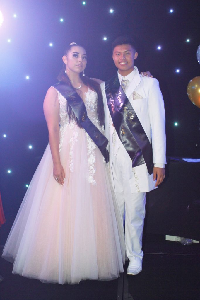 Belle and Beau of the Ball - Shakira Parise and Symon Legacion