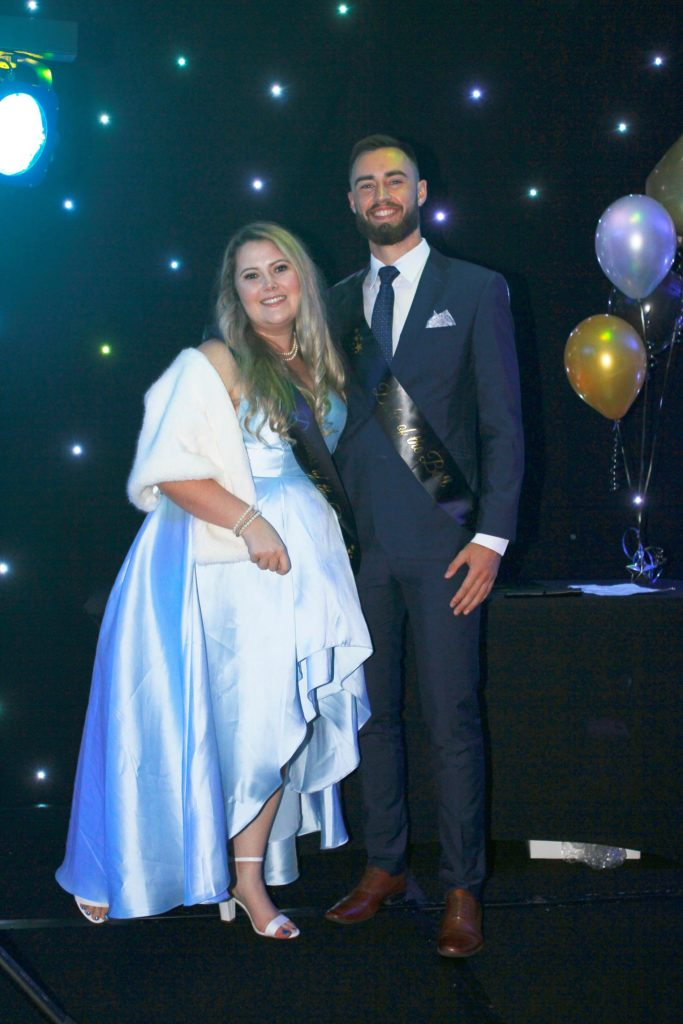 Duchess and Duke of the Ball - Ms Hayley Malcolm and Mr Alex Winch