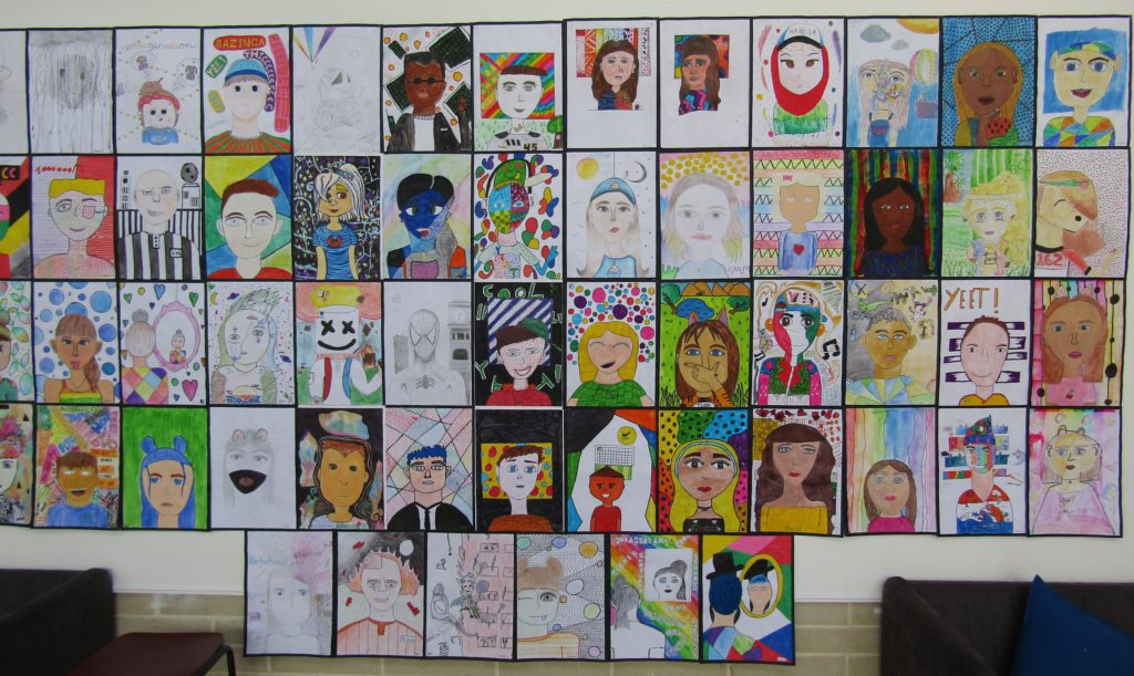 Artwork by West Balcatta Primary School