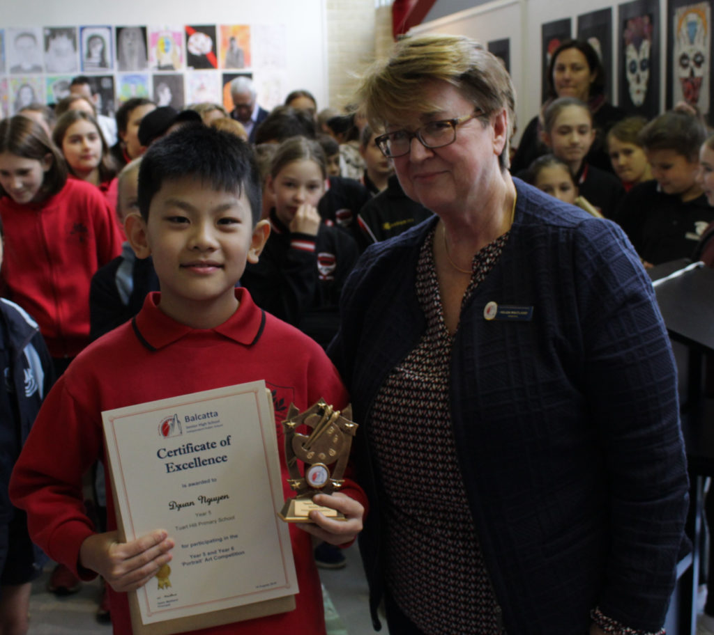 Certificate of Excellence - Dzuan Nguyen, Year 5 Tuart Hill PS