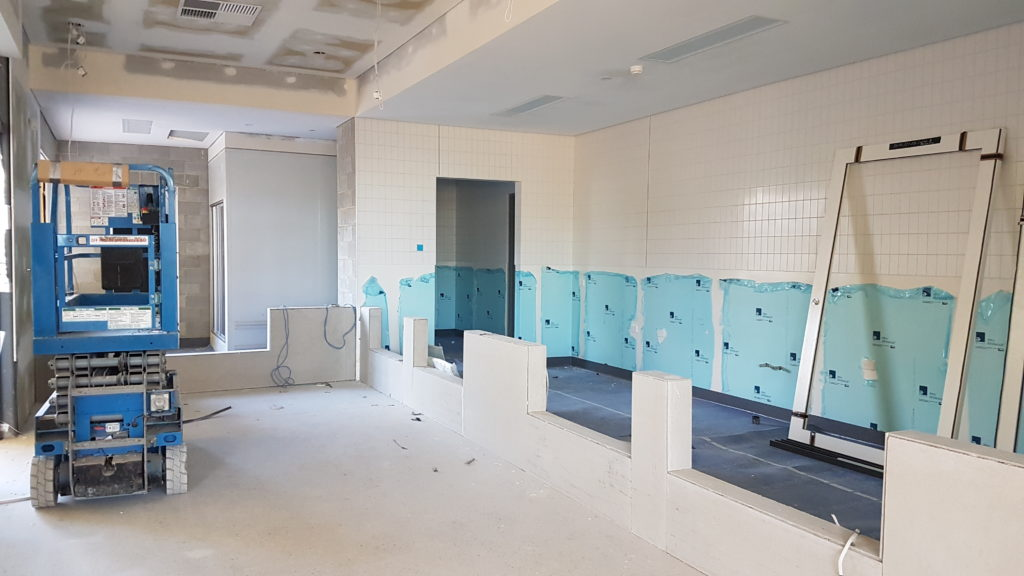 23 March 2020 - Canteen area