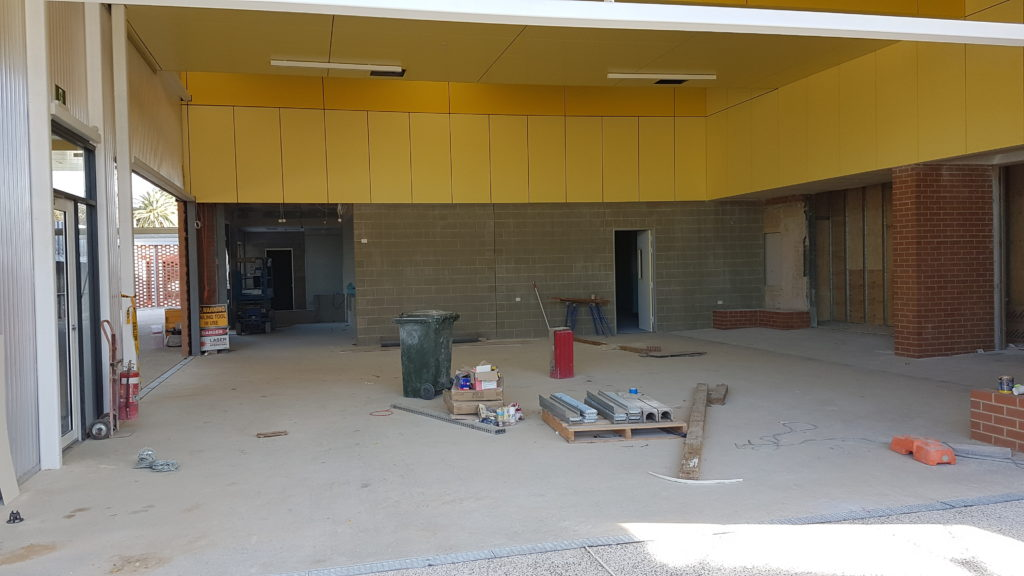 23 March 2020 - Cafe area