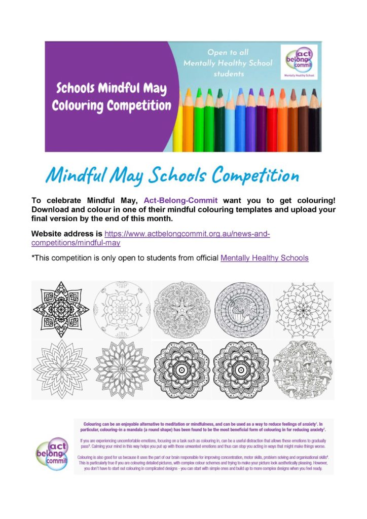 Mindful Colouring Competition