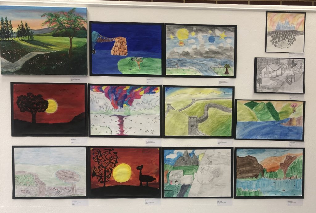 Artworks by Tuart Hill PS