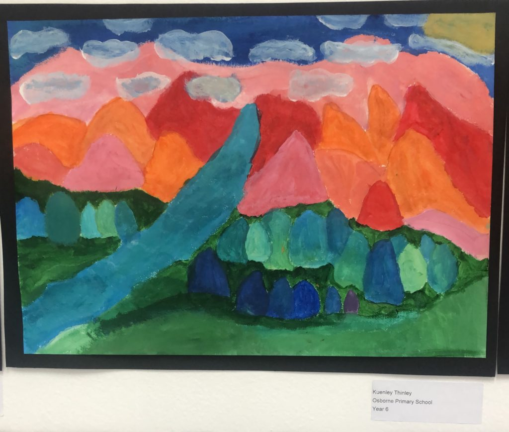Artwork for Certificate of Commendation - Kuenley Thinley, Yr 6 Osborne PS