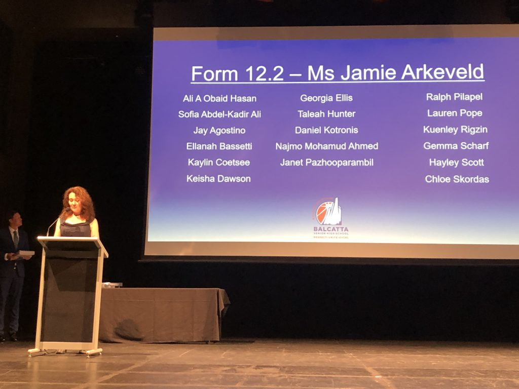 Ms Arkeveld presenting Form 12.2 folders
