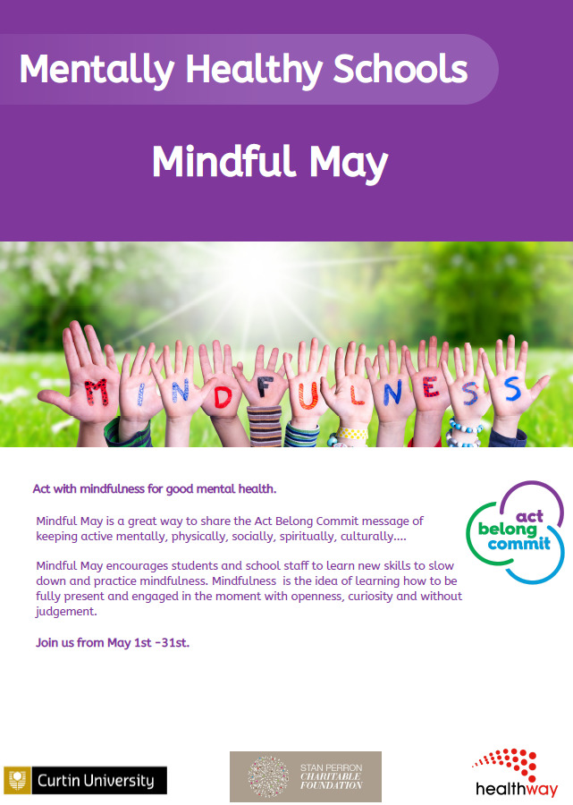 Mindful May Flyer