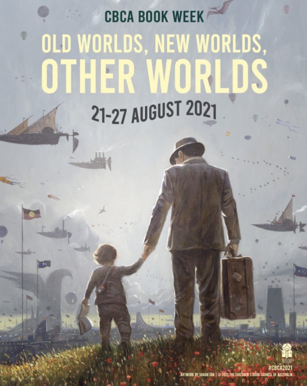 Old worlds, new worlds, other worlds - Shaun Tan poster